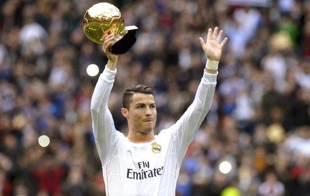 Cristiano Ronaldo Balón de Oro 2014