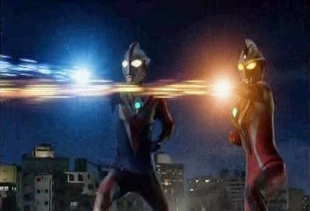 Ultraman Cosmos vs Ultraman Justice Ultraman Justice Crusher ModeUltraman Justice Crusher Mode