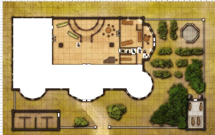 Combat Map - Turn 18