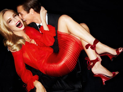 Mirte Maas & Mathias Bergh by Tom Ford for Tom Ford Spring 2012-3