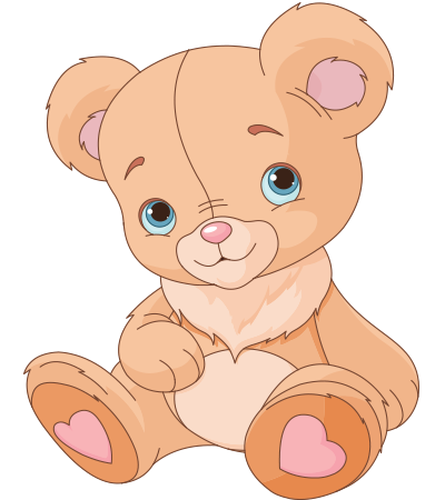 Endearing teddy bear