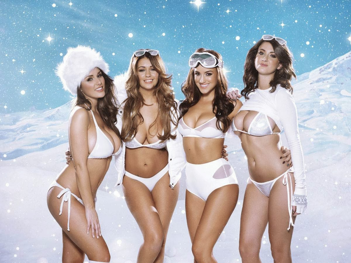 Lucy Pinder, Holly Peers, Rosie Jones & Joey Fisher – Nuts Christmas Special (December 2013)