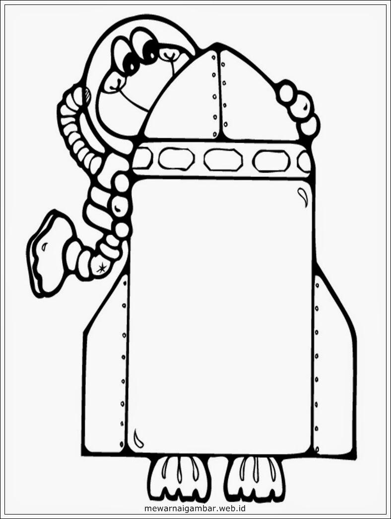 gambar kartun astronot