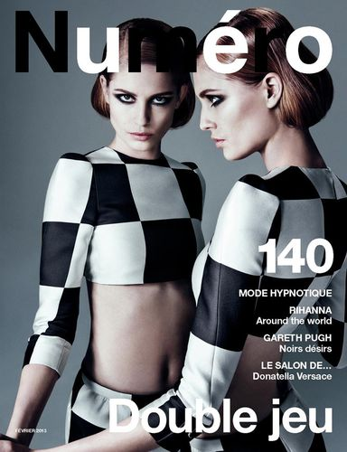 Nadja Bender on the Cover of Numéro Magazine #140