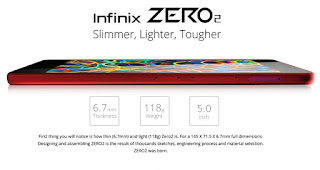Review Infinix Zero 2 specification and feature