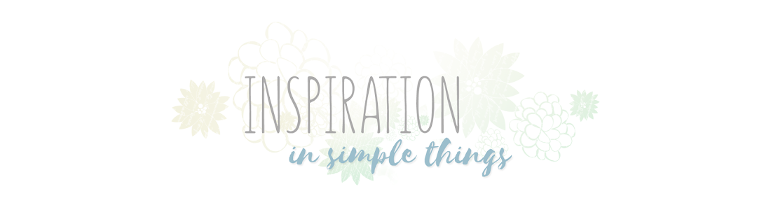 Inspiration in simple things