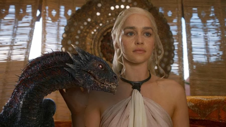 dragon lady in game of thrones