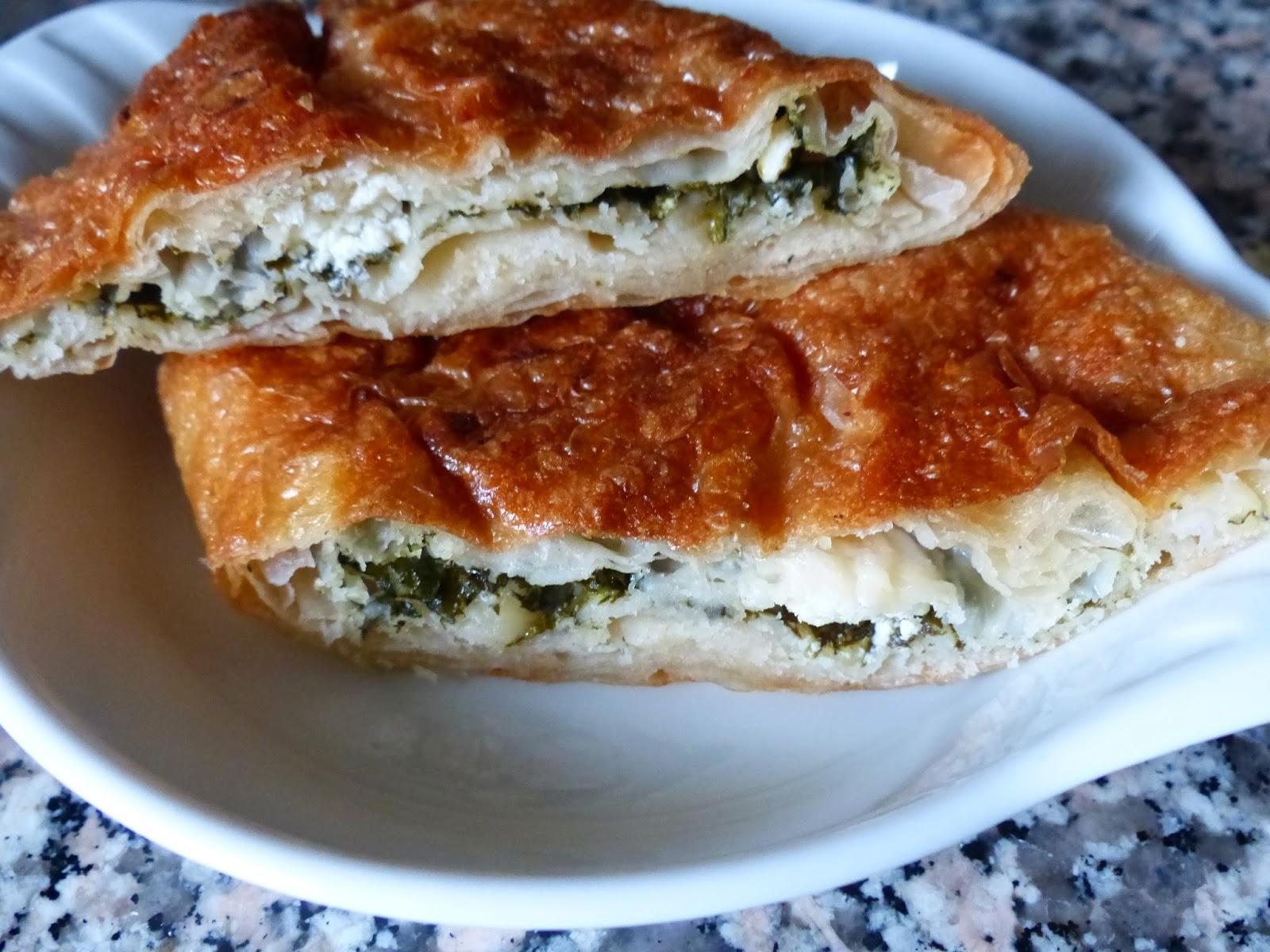 Börek mit Schafskäse und Spinat