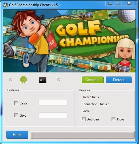 Golf Championship Cheat Hack Tools