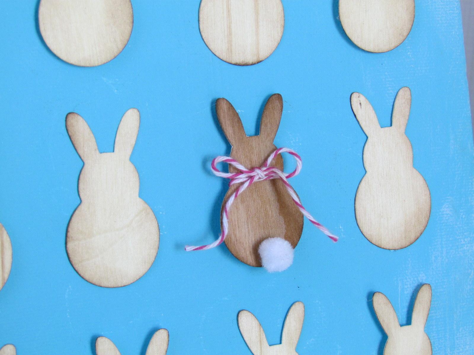 Cherry Wood Veneer Bunny