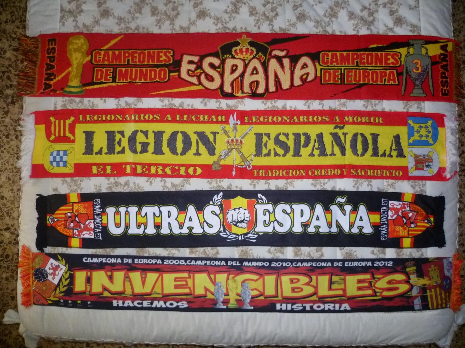 España, Legión española y Ultras España
