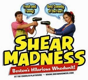 shear madness, charles playhouse, boston, theater, interactive theater, blog night, media, jennifer amero