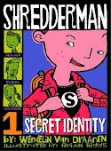 Shredderman #1:  Secret Identity