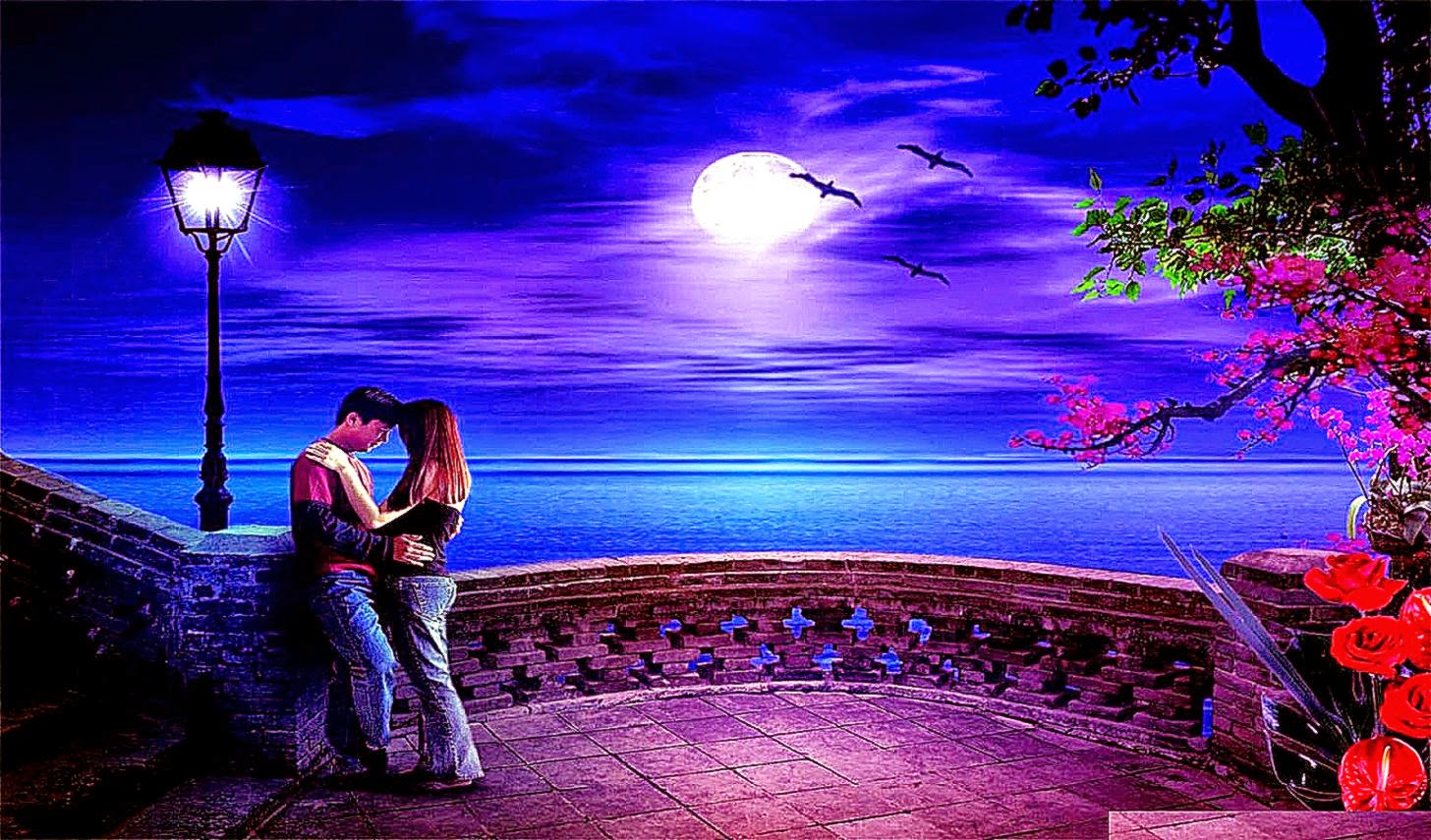 Best Love Wallpaper Dow : 3D Romantic Wallpaper Free Best Hd Wallpapers