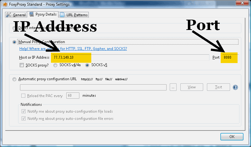 Free Proxy List - List of Open Proxy Servers