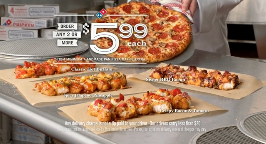 News: Domino\'s New Specialty Chicken is Pizza with Chicken Instead ...
