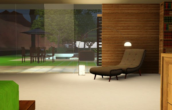 [LIVING DESIGN] WOODEN BOX HOUSE THE SIMS 3 bedroom1