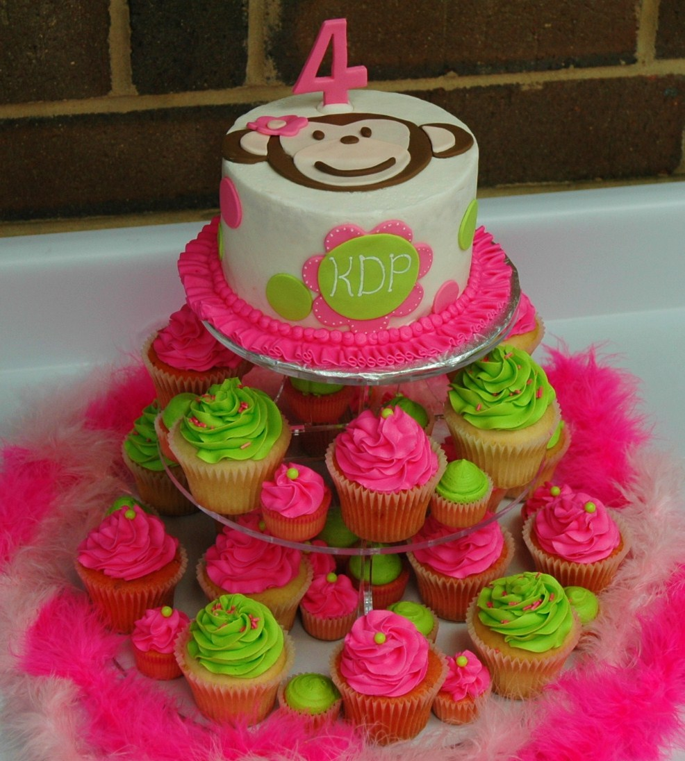 Monkey love cupcakes - photo#10