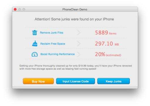 Bersih hapus memori iPhone 4