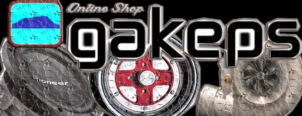 # GAKEPS Online Shop !