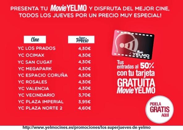 Estuplan las ventajas de movieyelmo - Ofertas cine valencia ...