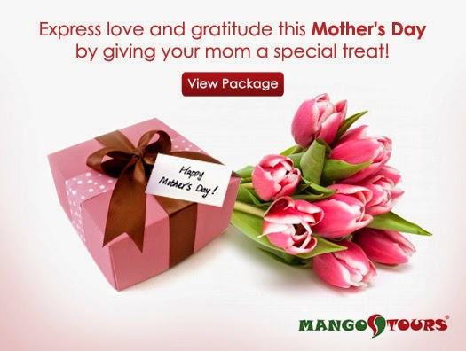 Mango Tours Happy Mother's Day special treat