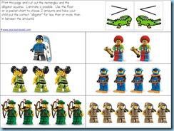 Free Lego Kindergarten Printables