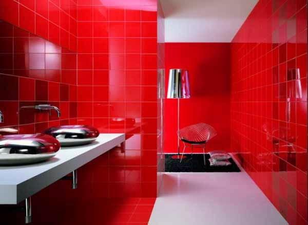 inspirasi kombinasi warna kamar mandi yang menarik