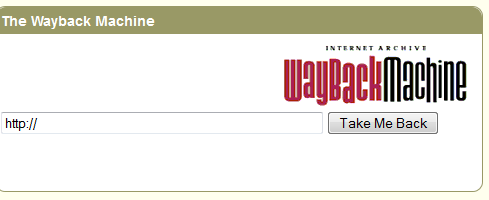 website archives wayback machine