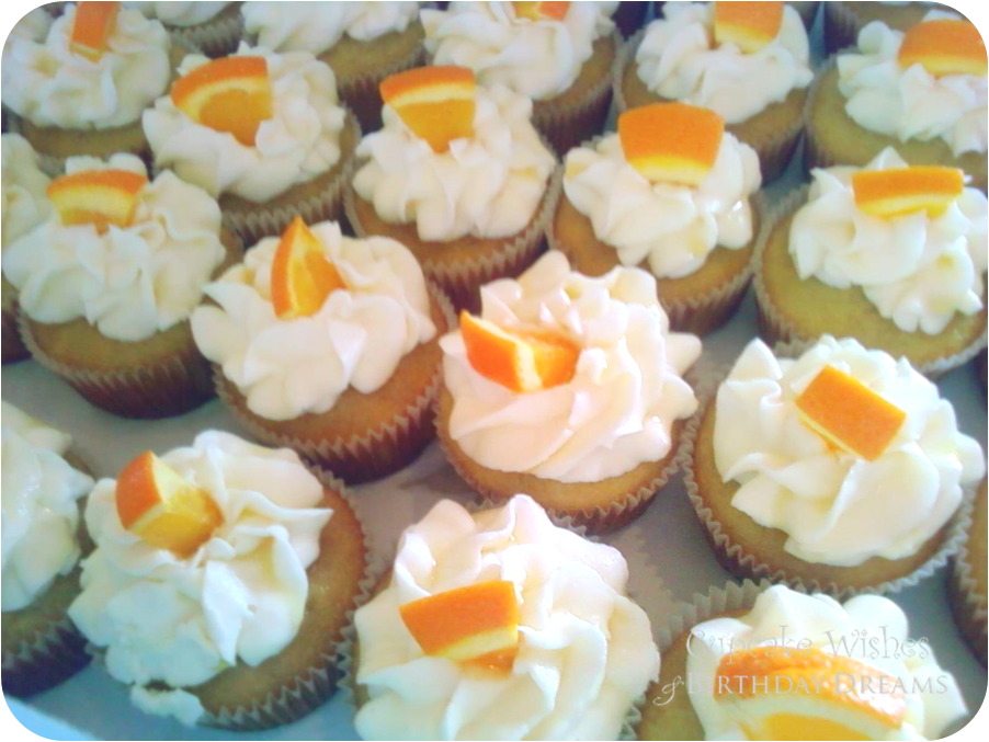 Sweet Treats Recipe} Mimosa Cupcakes for Mother's Day