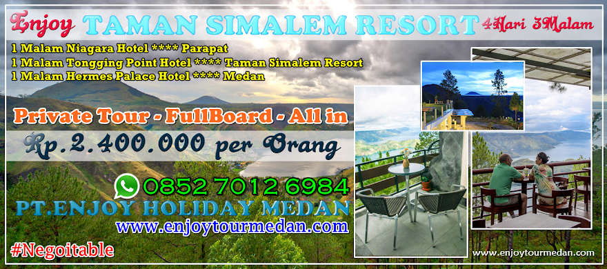 Enjoy Holiday Medan - Enjoy Tour Medan - Enjoy Travel Medan