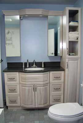 custom bathroom vanities provide you with all the surface and also