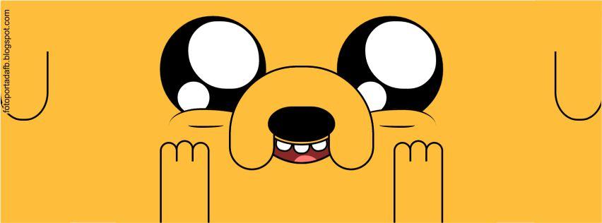 Portada para facebook como tema Jake el perro de hora de aventura
