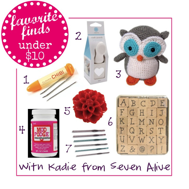 favorite finds - craft supplies