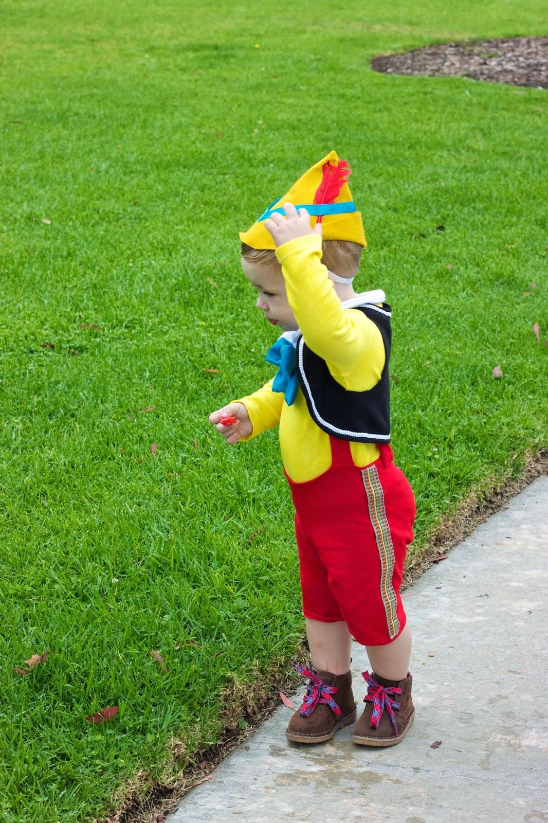 Новогодний костюм Буратино своими руками 82