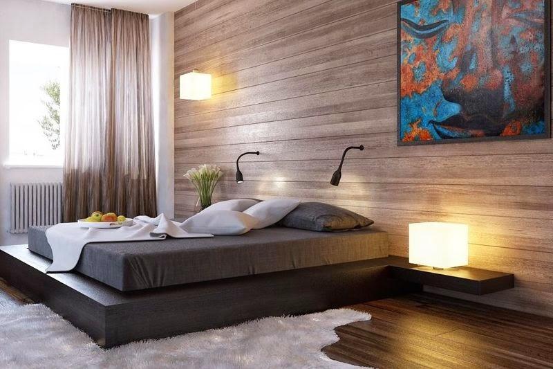 Como colocar laminas de madera casas ideas Revestimiento para paredes dormitorios