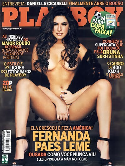 Fernanda Paes Leme pelada