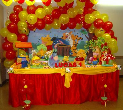 Birthday Party Decoration Gallery: