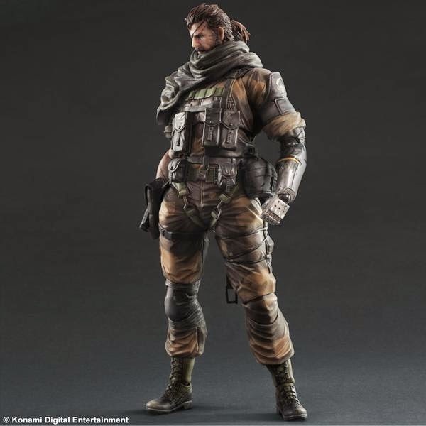 metal gear solid toy snake