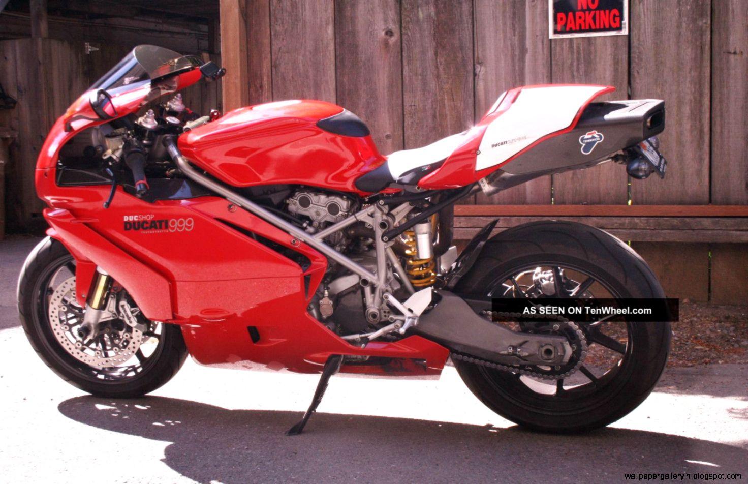 Photo Superbike Ducati 999 Wallpaper Wide 13848 Wallpaper