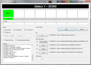 Cara Install Ulang (Flashing) Samsung Galaxy Young 2014