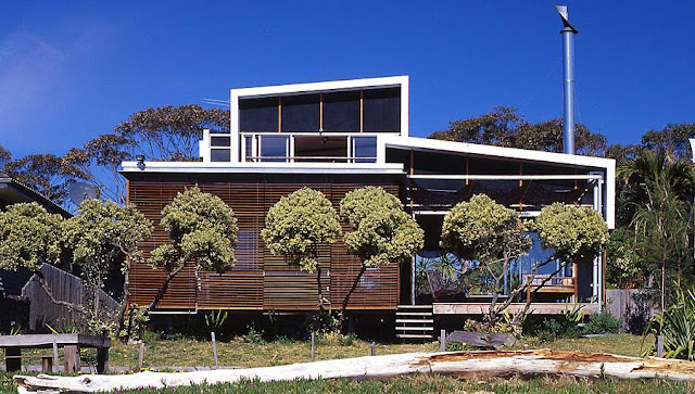 neocribs: Modern Australian Beach House | Bundeena Beach ...