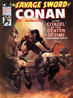 Savage Sword of Conan #7, The Citadel at the Centre of Time
