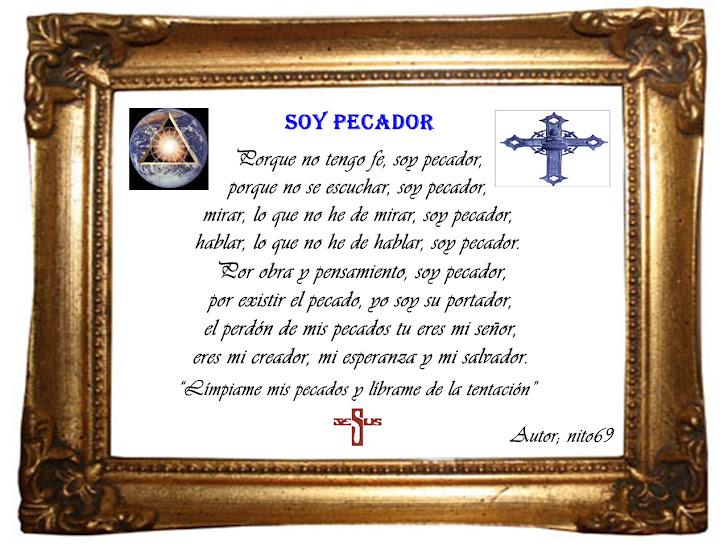 SOY PECADOR  ( Plegaría )