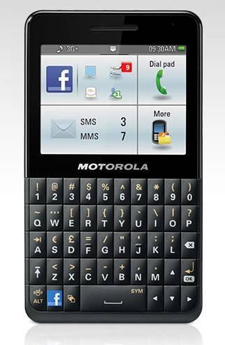 Resto de características del celular Motorola EX225