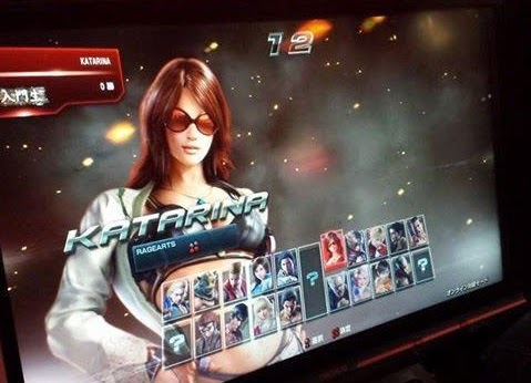tekken 7 character select