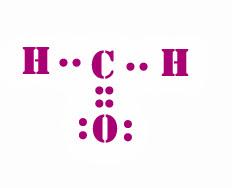 Lewis dot diagram h2co