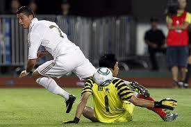 ronaldo hizo gol de tacon