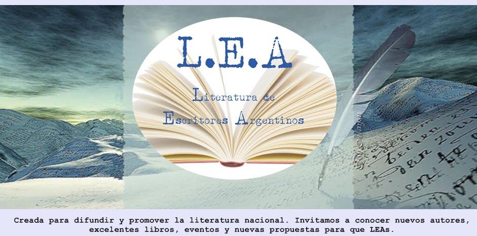 L.E.A. | Literatura de Escritores Argentinos