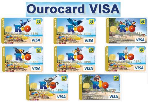 Cartão OuroCard Visa Rio